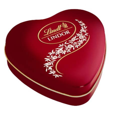 Lindt chocolate valentines day