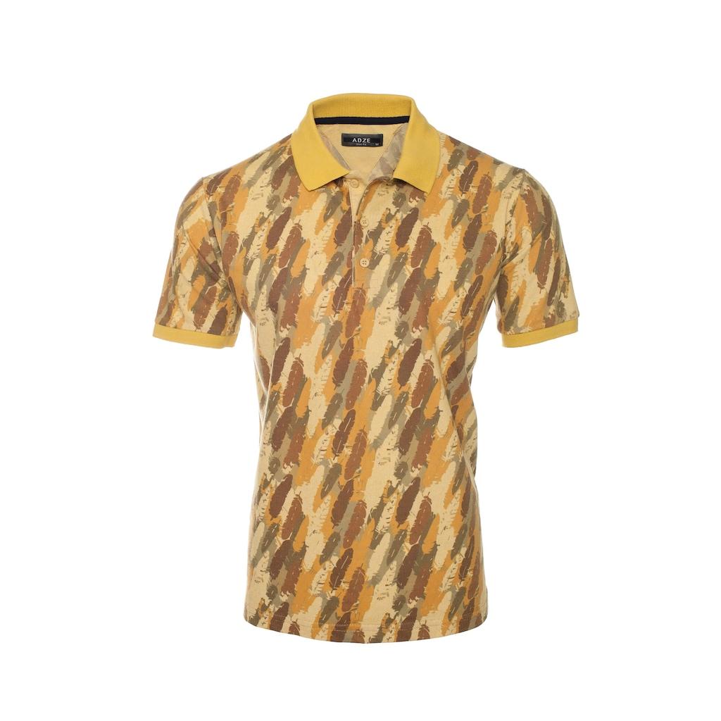 47601398 - Adze 83305 Sarı Polo Yaka T-Shirt Asorti - n11pro.com
