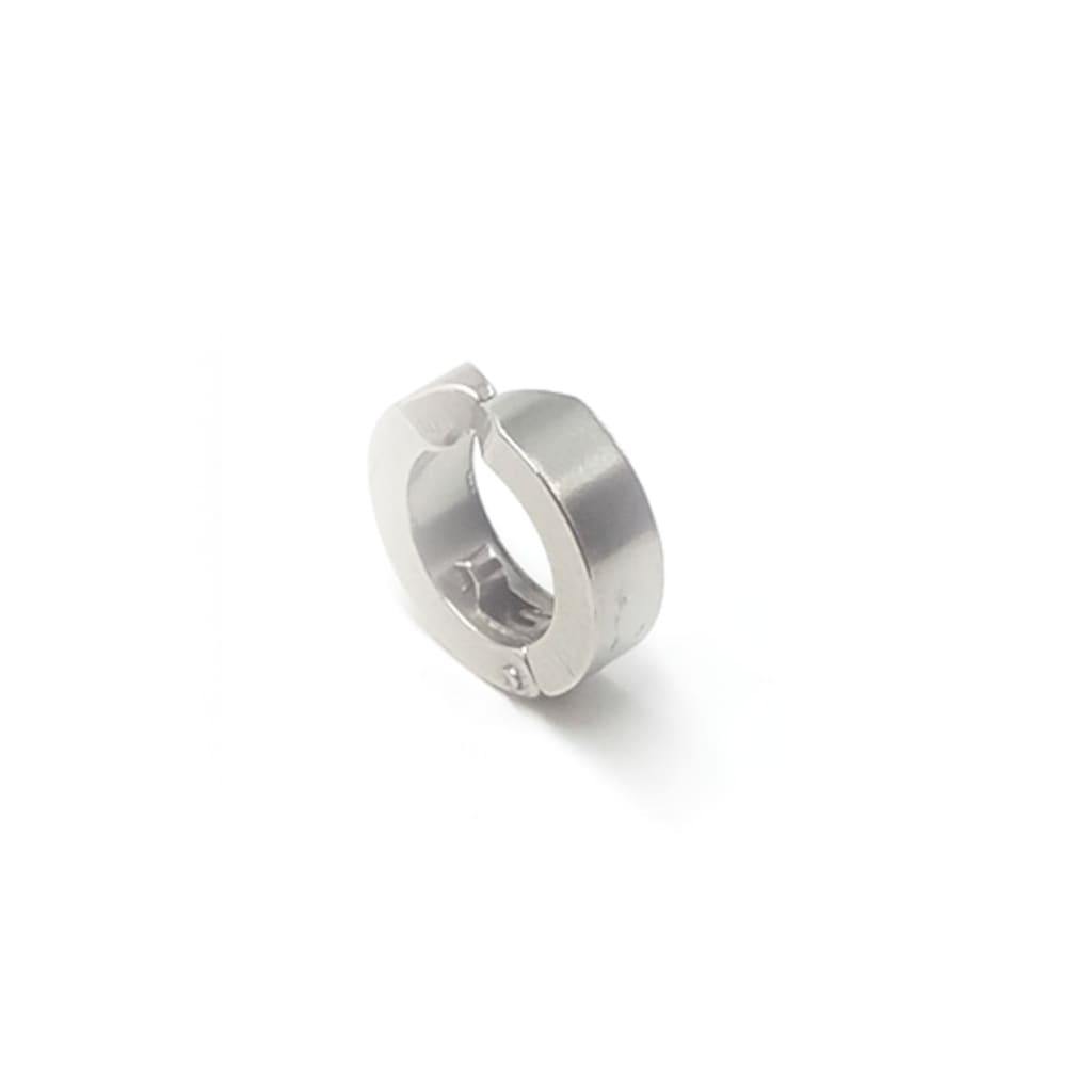 15210872 - Madame Kuub Deliksiz Kulaklar İçin Sıkıştırmalı Çelik Erkek Küpe - n11pro.com