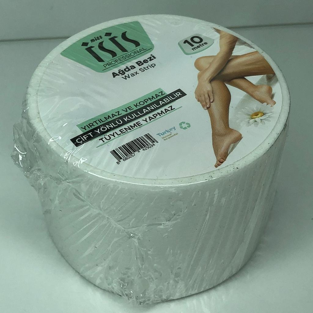 79696301 - Miss İsis Çift Yönü Hassas Ciltler Rulo Ağda Bezi Spatula Hediyeli 10 M - n11pro.com