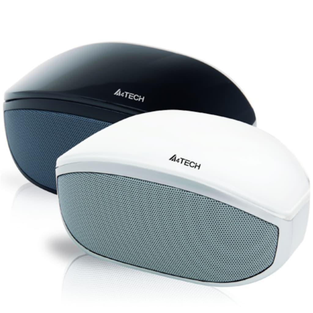 38694837 - A4 Tech BTS-005 Siyah 2x3W Bluetooth Stereo Hoparlör - n11pro.com