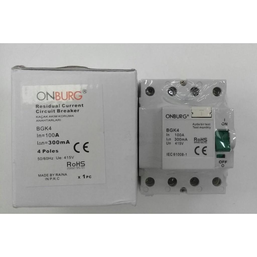 76654187 - Onburg 4 x 100 A 300 mA Yangın Koruma - n11pro.com