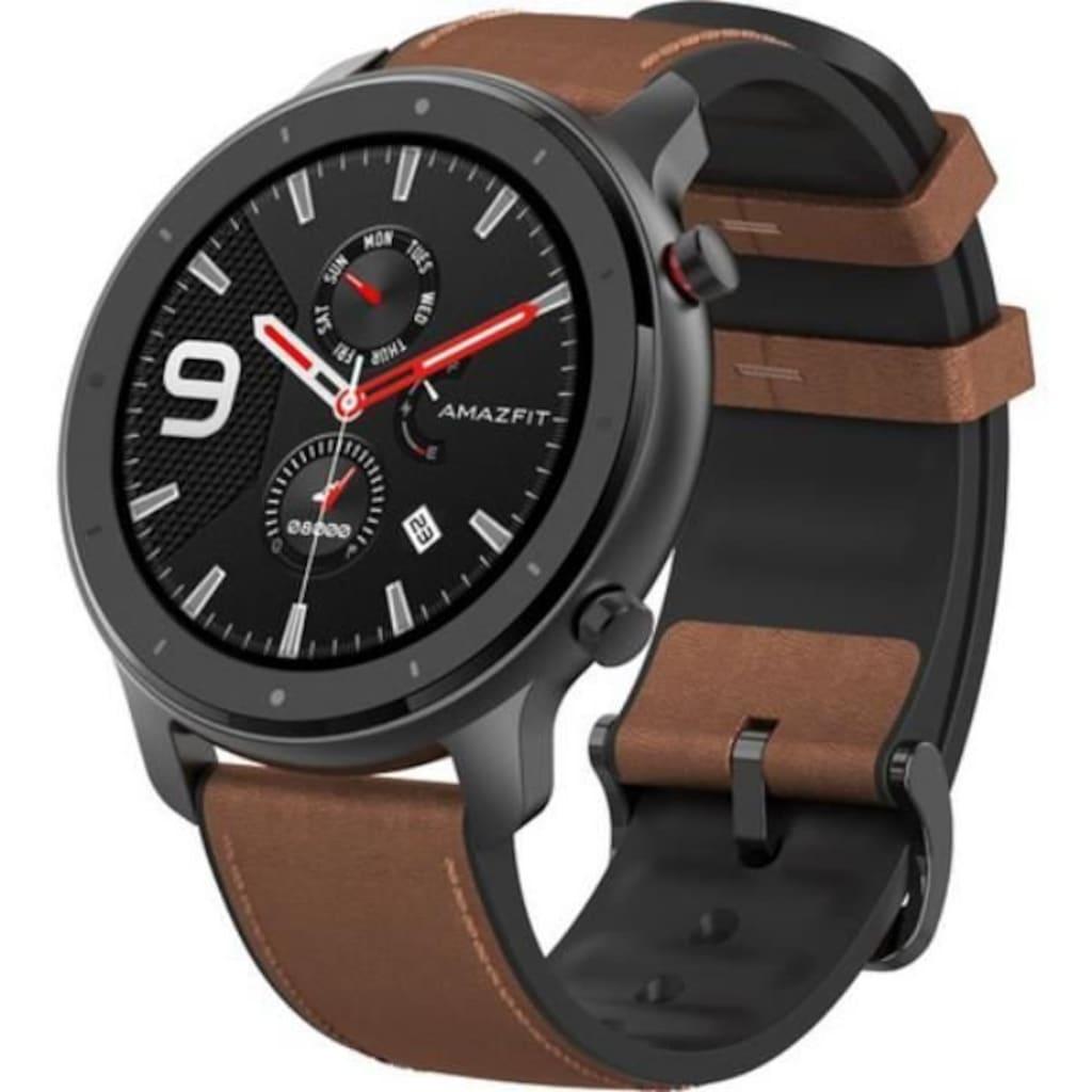 Zarif Ekran Tasarımı ile Amazfit A1902 GTR-47MM Akıllı Saat