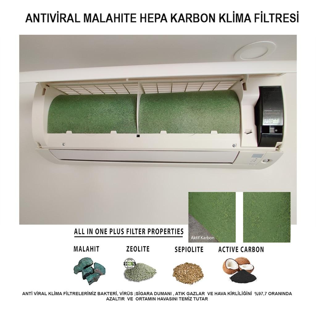 65492865 - FAF Fresh Air Filter Malahite Hepa Karbon Klima Filtresi - n11pro.com