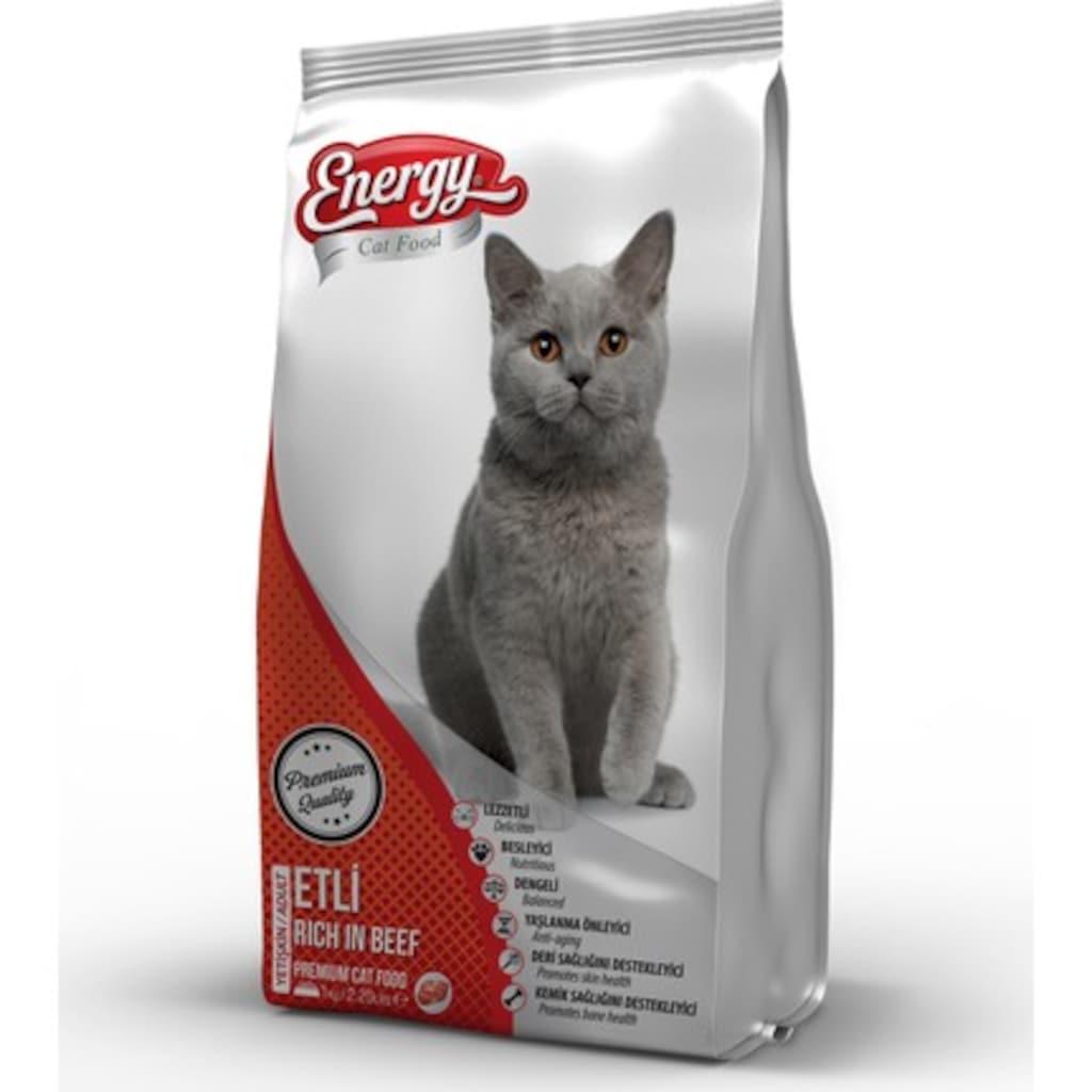 53895663 - Energy Cat Food Kedi Maması 1 KG Etli - n11pro.com