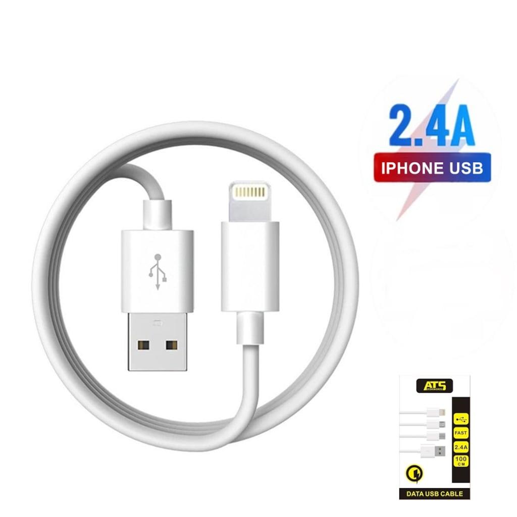 24867652 - Ats 2.4 A Lightning Usb Kablo - n11pro.com