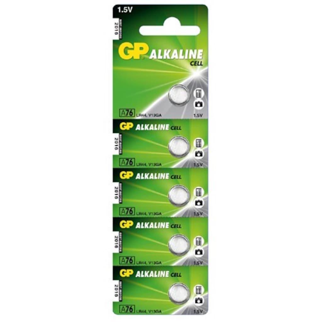 36126450 - GP GPA76-C5 5 Adet LR44 Alkalin Düğme Pil - n11pro.com