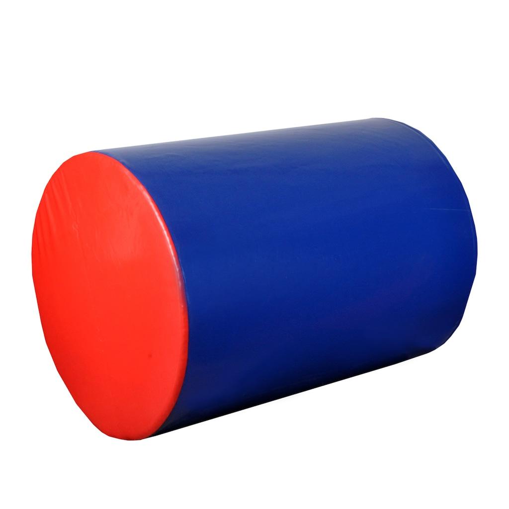 58603701 - Haşado Silindir Jimnastik Minderi Kırmızı-Mavi - n11pro.com
