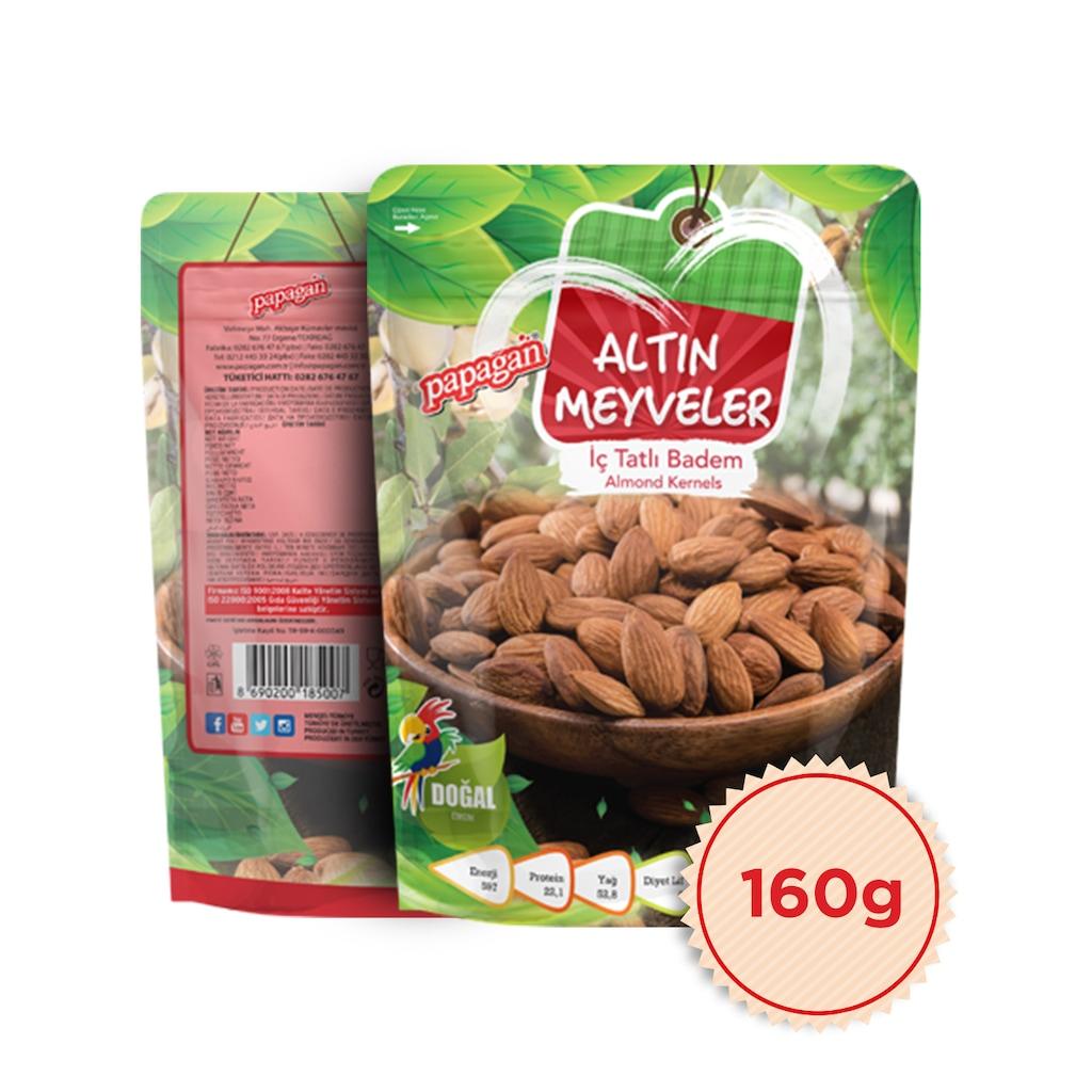 82465901 - Papağan Altın Meyveler İç Tatlı Badem 160 G - n11pro.com