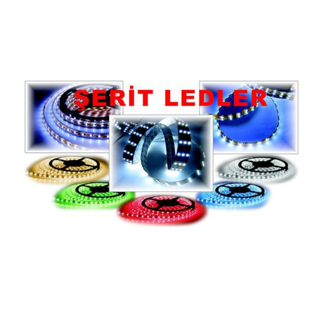 29625174 - Powermaster 5060 Silikonsuz 3 Çipli LED Yeşil Iç Mekan 5 MT - n11pro.com