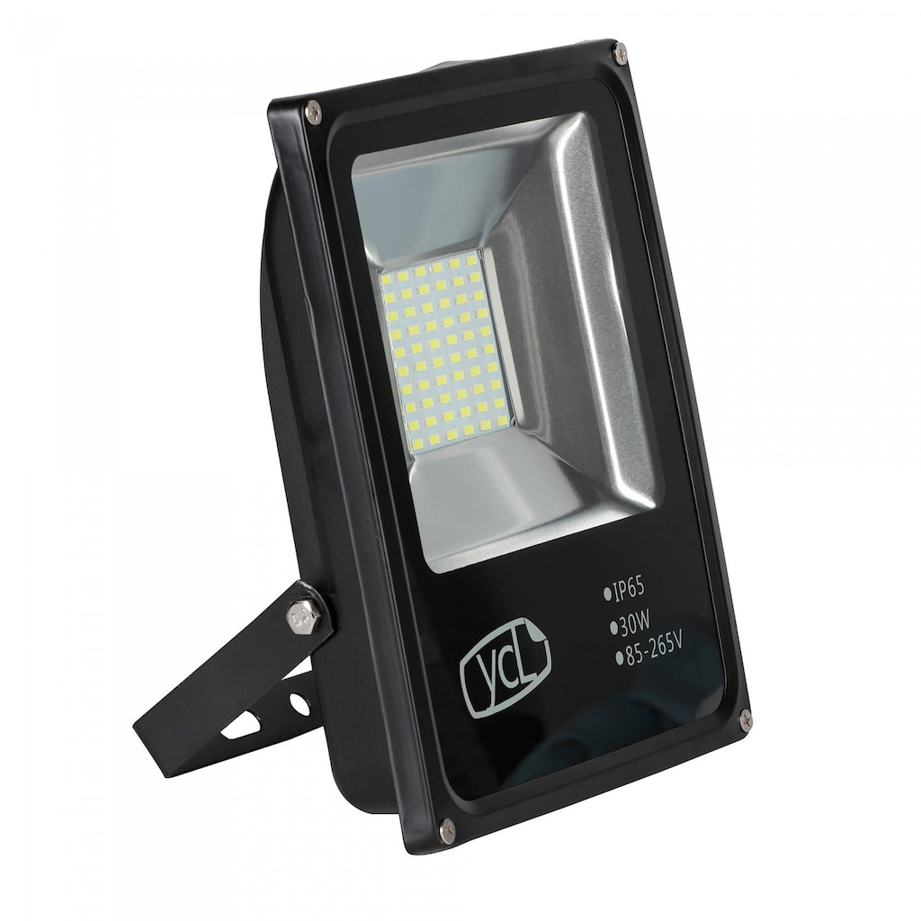 93330751 - Ycl AL ECO Serisi 30 W SMD Led Projektör Siyah - n11pro.com