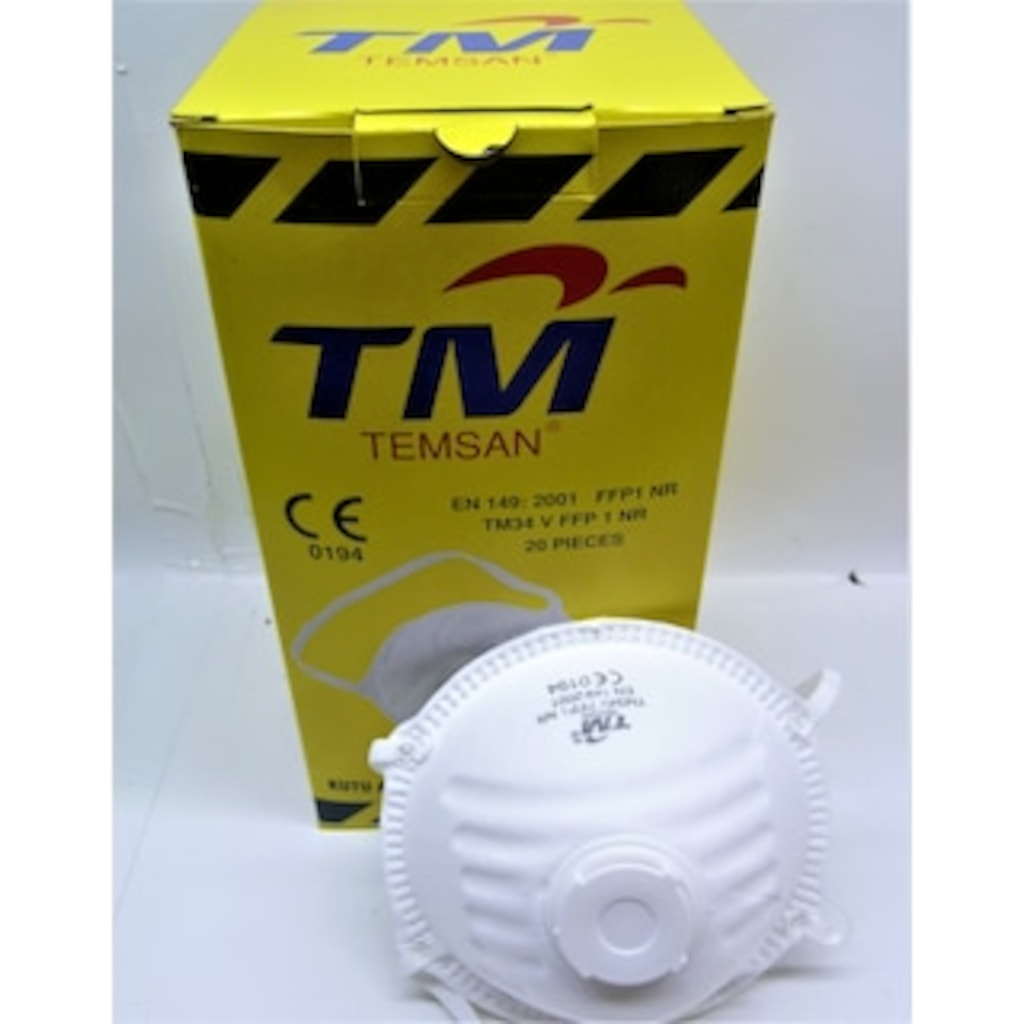 99017925 - Temsan TM34V FFP1 NR Maske Beyaz - n11pro.com