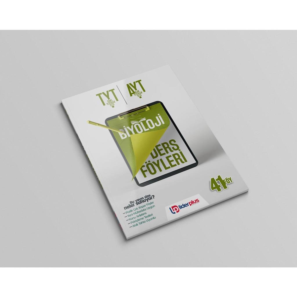 03361238 - Lider Plus Yayınları TYT AYT Biyoloji Ders Föyleri - n11pro.com