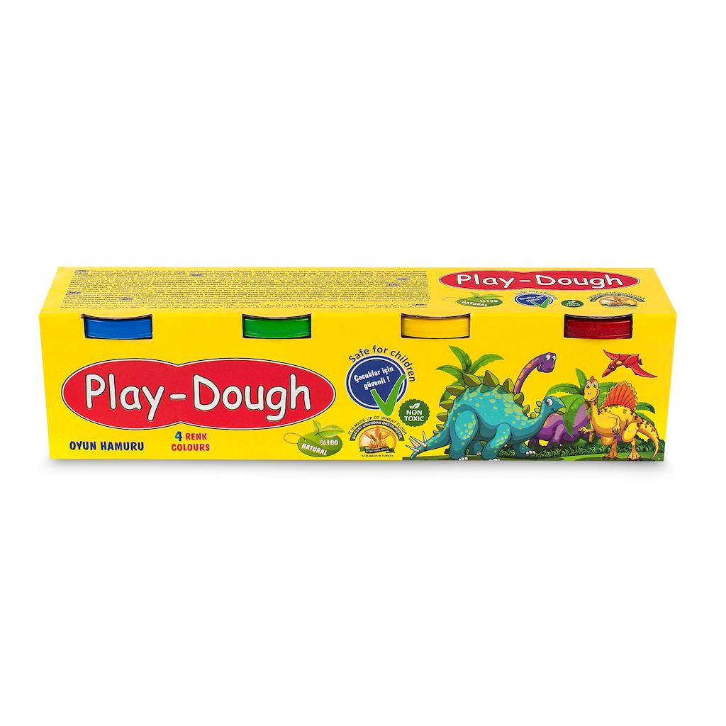05449865 - Play Doh T-500 4'lü Oyun Hamuru - n11pro.com