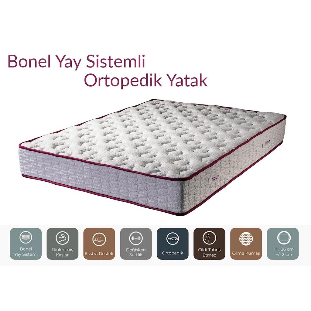 16333661 - Evline Bonel Yay Sistem Ortopedik Natura Serisi Yatak 140 x 200 CM - n11pro.com
