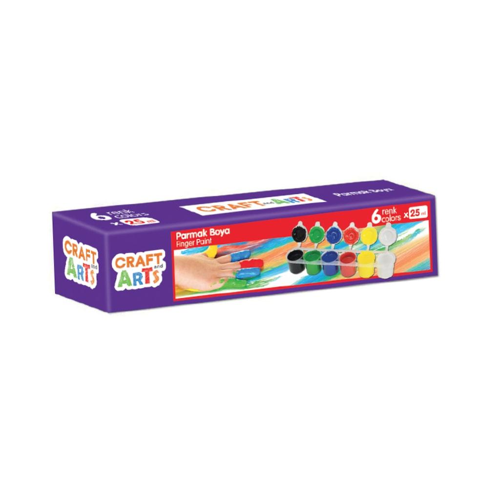 50579980 - Craft and Arts Parmak Boya 6x25 ml - n11pro.com