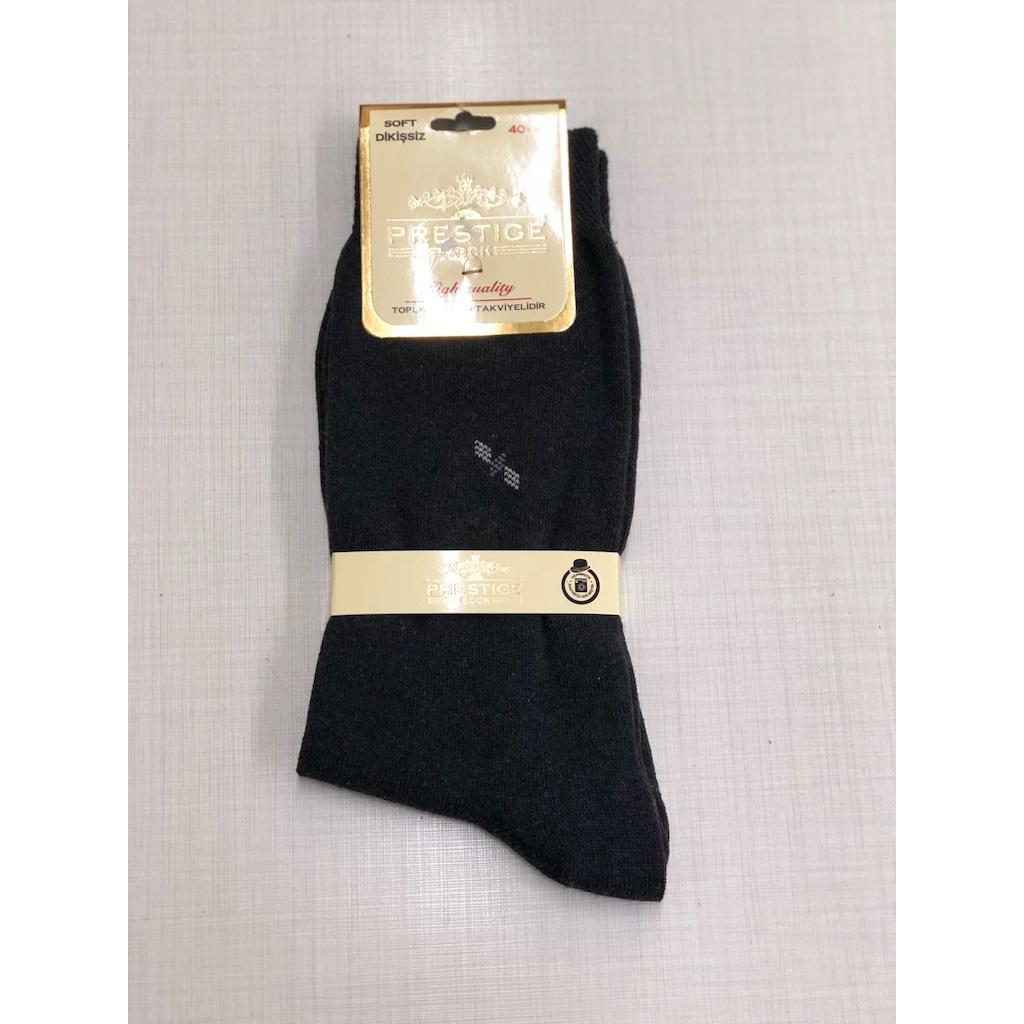 91843284 - Prestige Dikişsiz Erkek Çorap Siyah Standart - n11pro.com