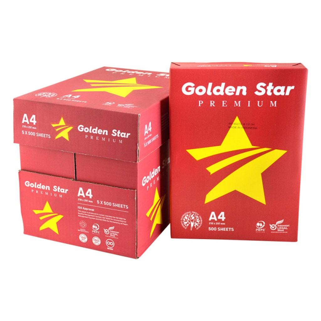 04961263 - Golden Star A4 Fotokopi Kağıdı 80 GR 5 x 500 Adet - n11pro.com
