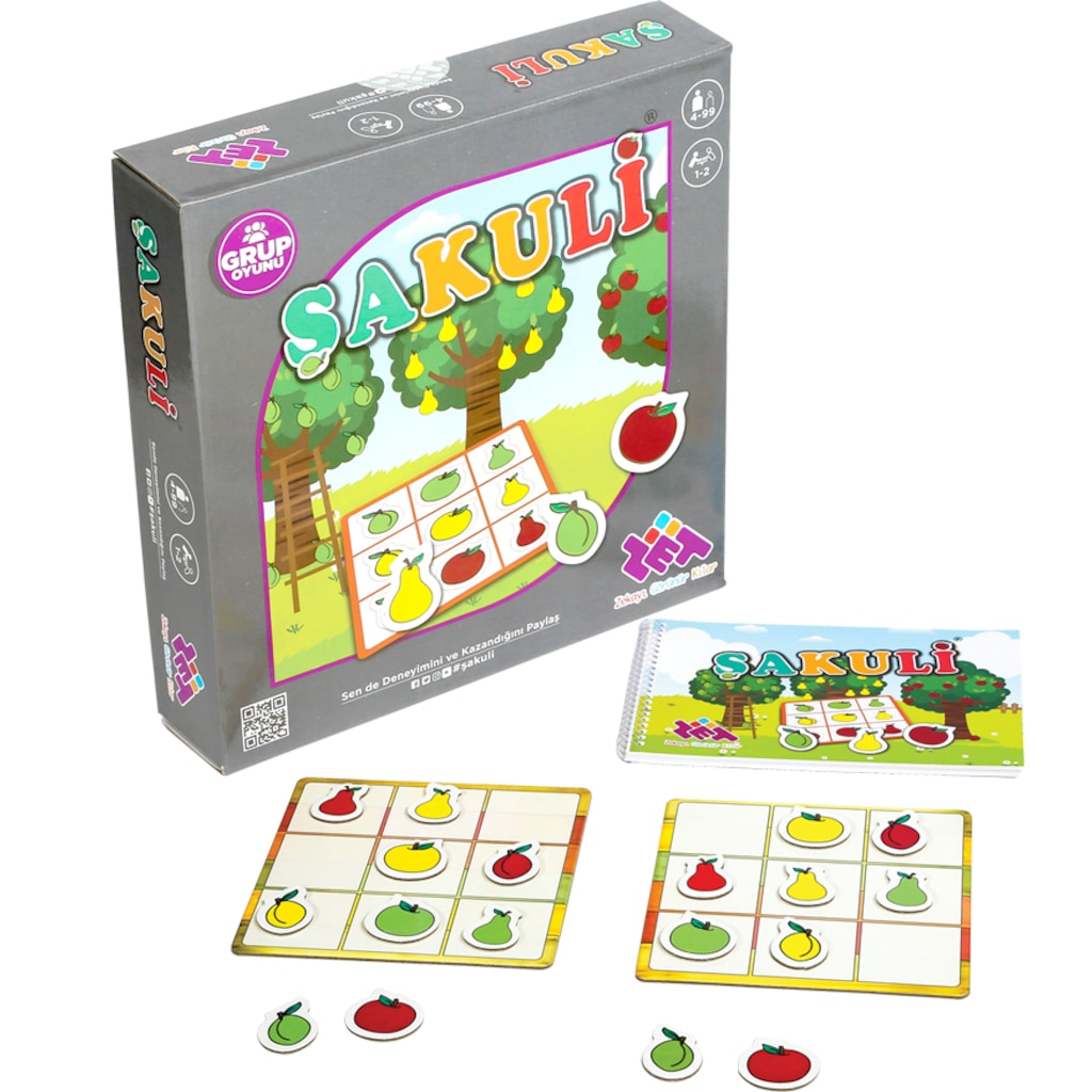 07430462 - Zet Zeka-Şakuli Zeka Oyunu - n11pro.com