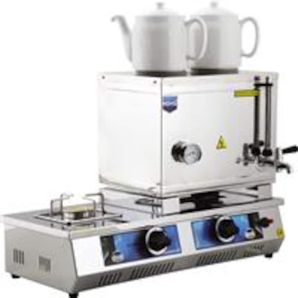 45704116 - Remta N 11 CE Belgeli Çift Demlikli Doğalgazlı+LPG'li Çay Ocağı - n11pro.com