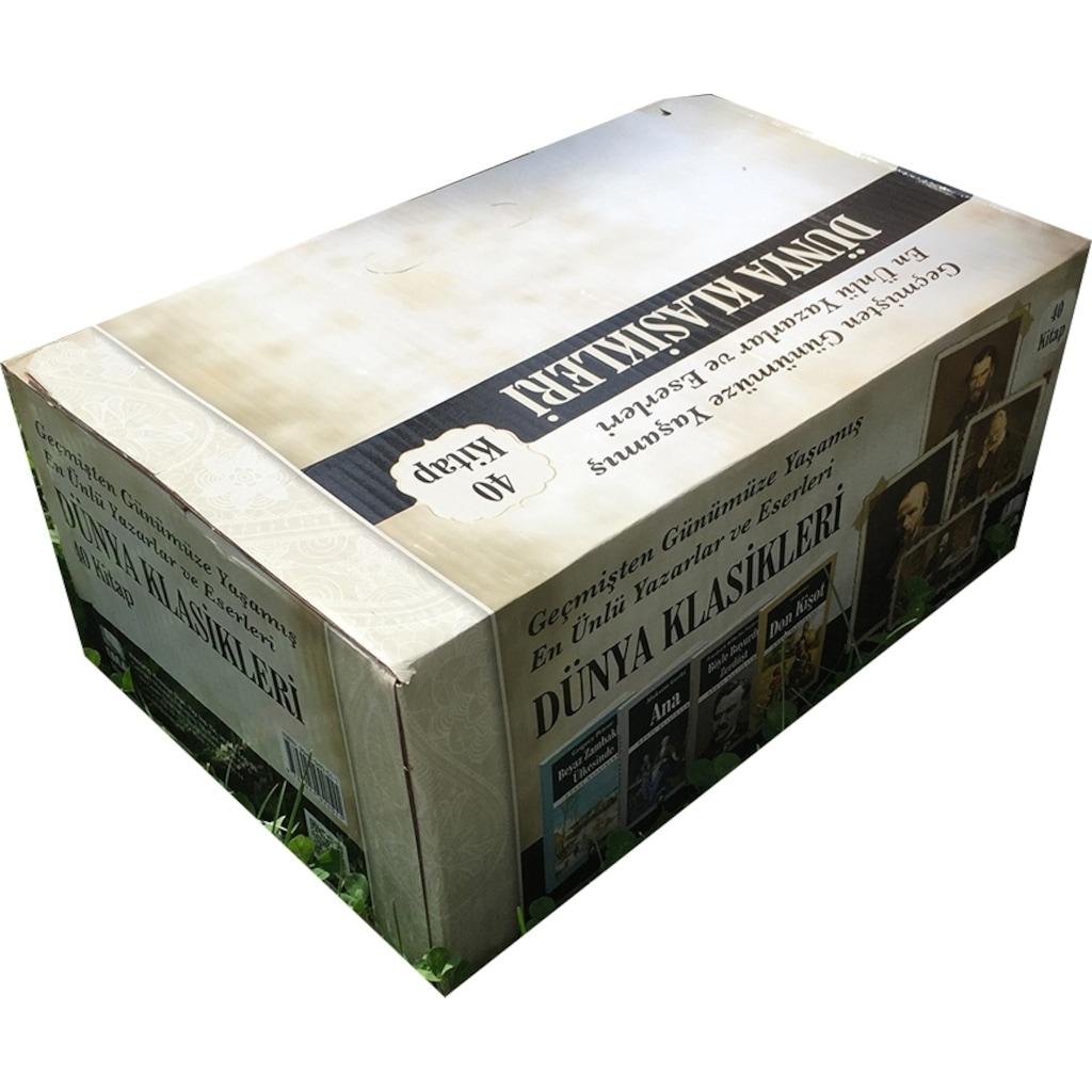 57398677 - Dünya Klasikleri 40 Kitap 100 Temel Eser Akvaryum - EMA Yayınları - n11pro.com