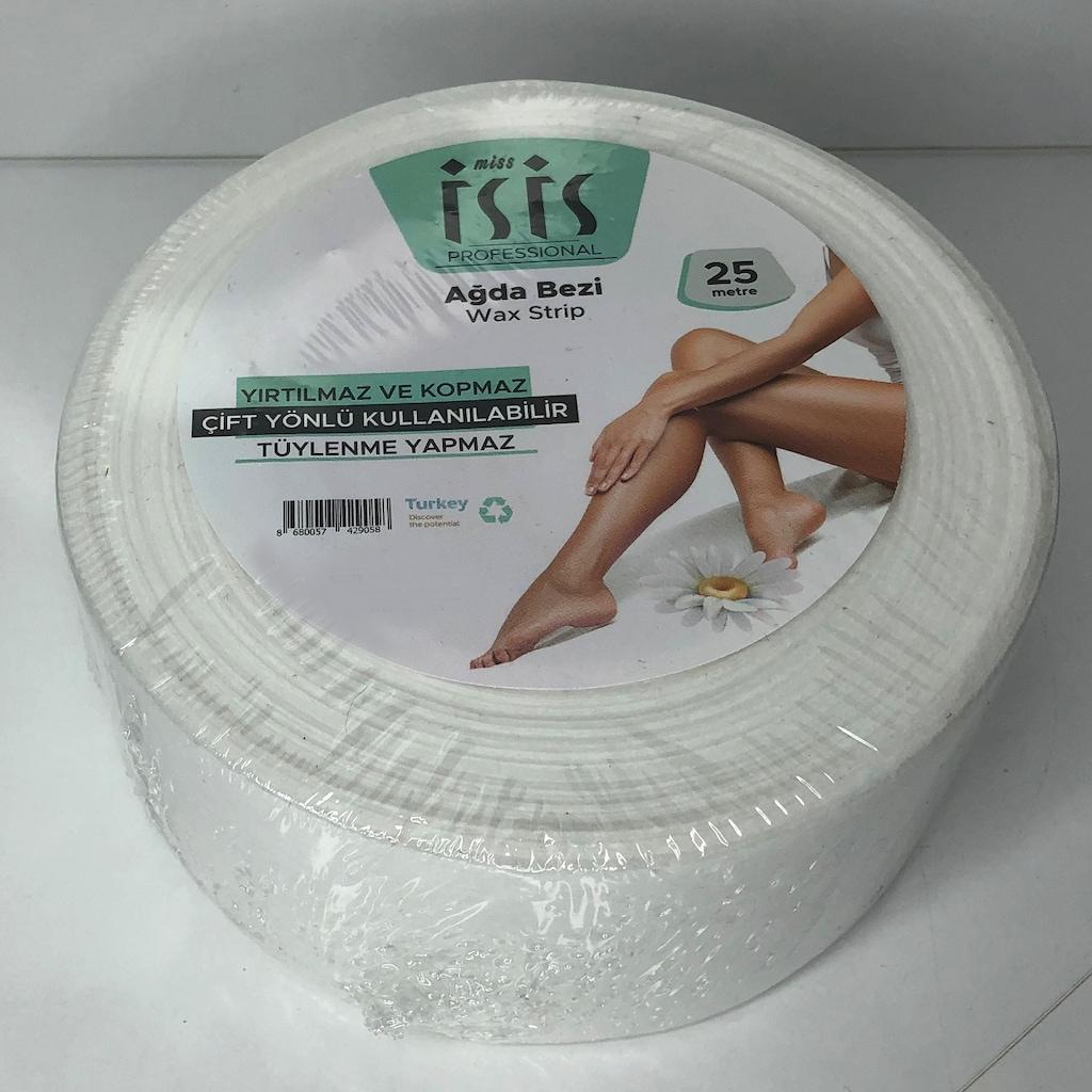 54203548 - Miss İsis Çift Yönü Hassas Ciltler Rulo Ağda Bezi Spatula Hediyeli 25 M - n11pro.com