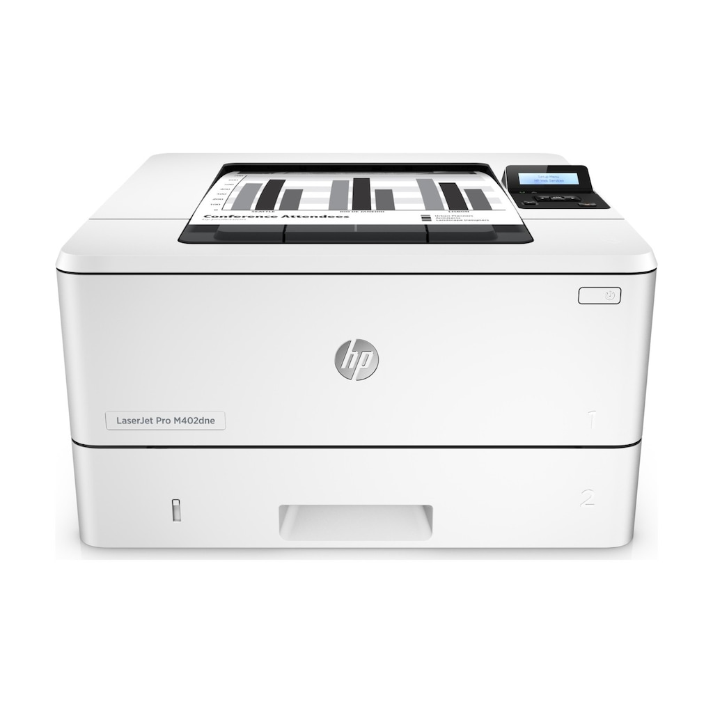 32816334 - HP LaserJet Pro M402DNE + Ethernet + Airprint + Çift taraflı + Mono Lazer Yazıcı (C5J91A) - n11pro.com