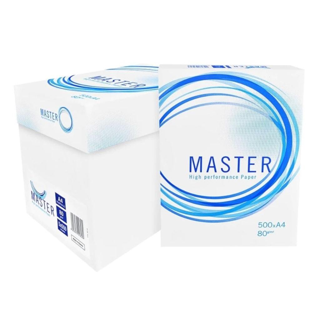 79493911 - Master A4 Fotokopi Kağıdı 80 GR 1 Koli 5 Paket 2500 Sayfa - n11pro.com