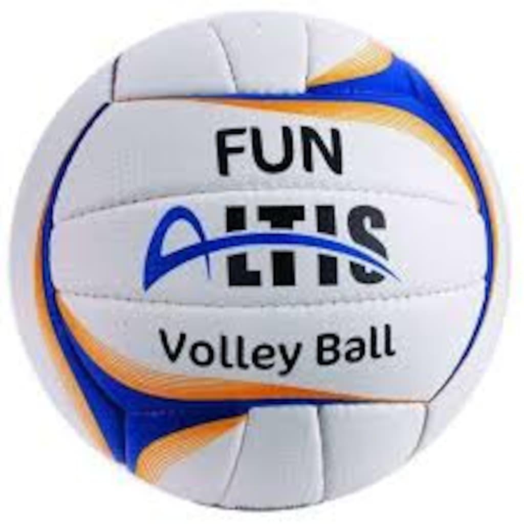 13875600 - Altis Voleybol Topu Pu Yellow Blue Fun - n11pro.com