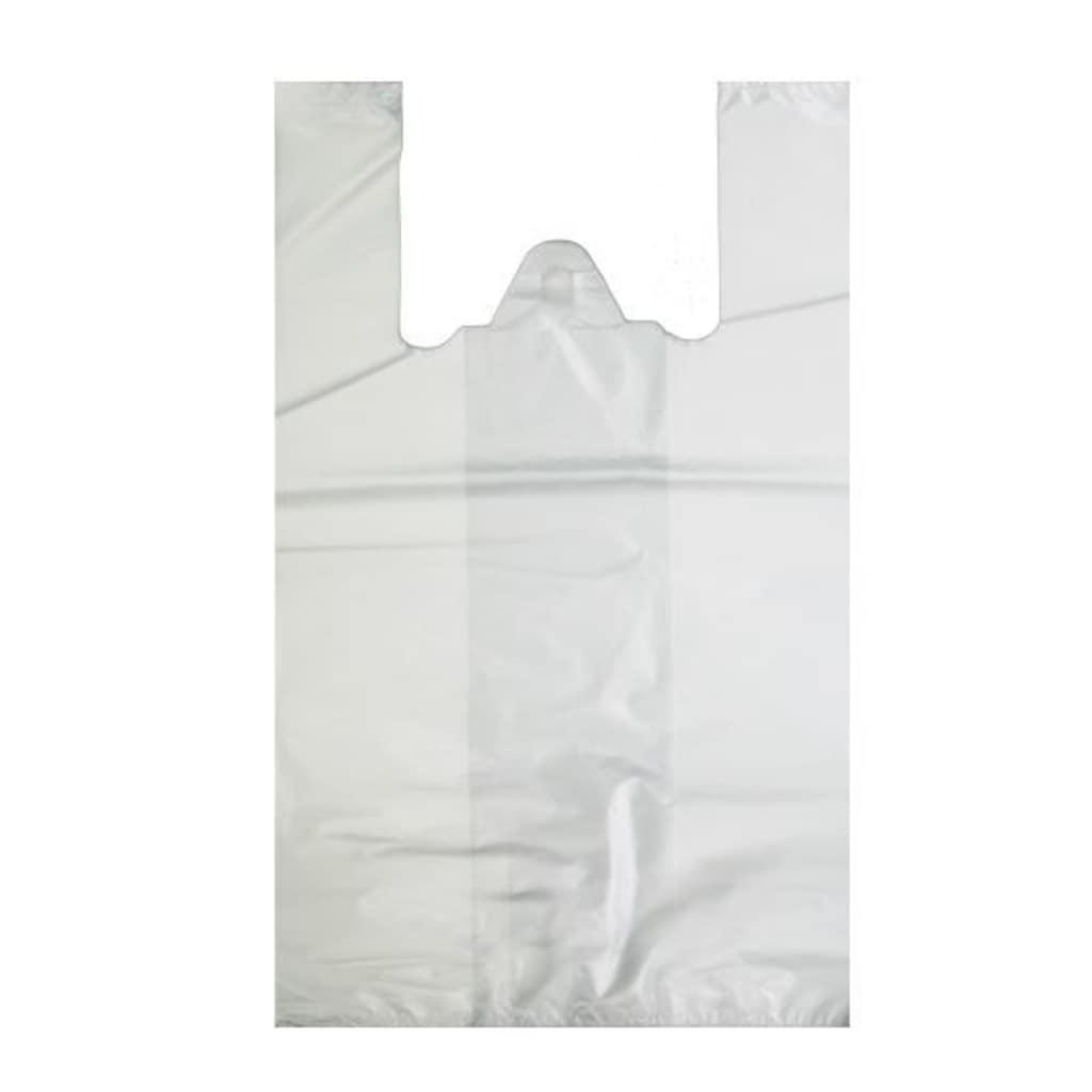 55021041 - Polar Plastik Hışır Atlet Market Poşeti Beyaz 28 x 50 CM 25 KG - n11pro.com
