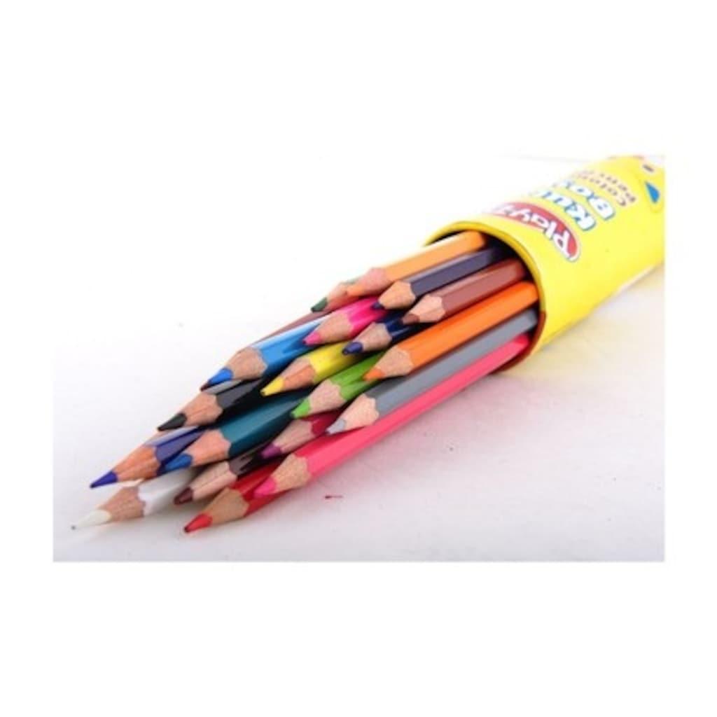 94018300 - Play Doh Play-KU007 24 Renk Tüp Kuru Boya - n11pro.com