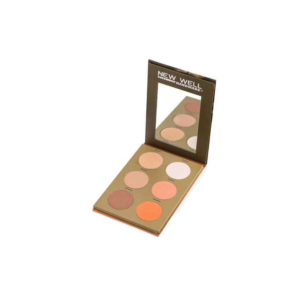 71976143 - New Well Handmade Eyeshadow Nicolas 6'lı Far Paleti - n11pro.com