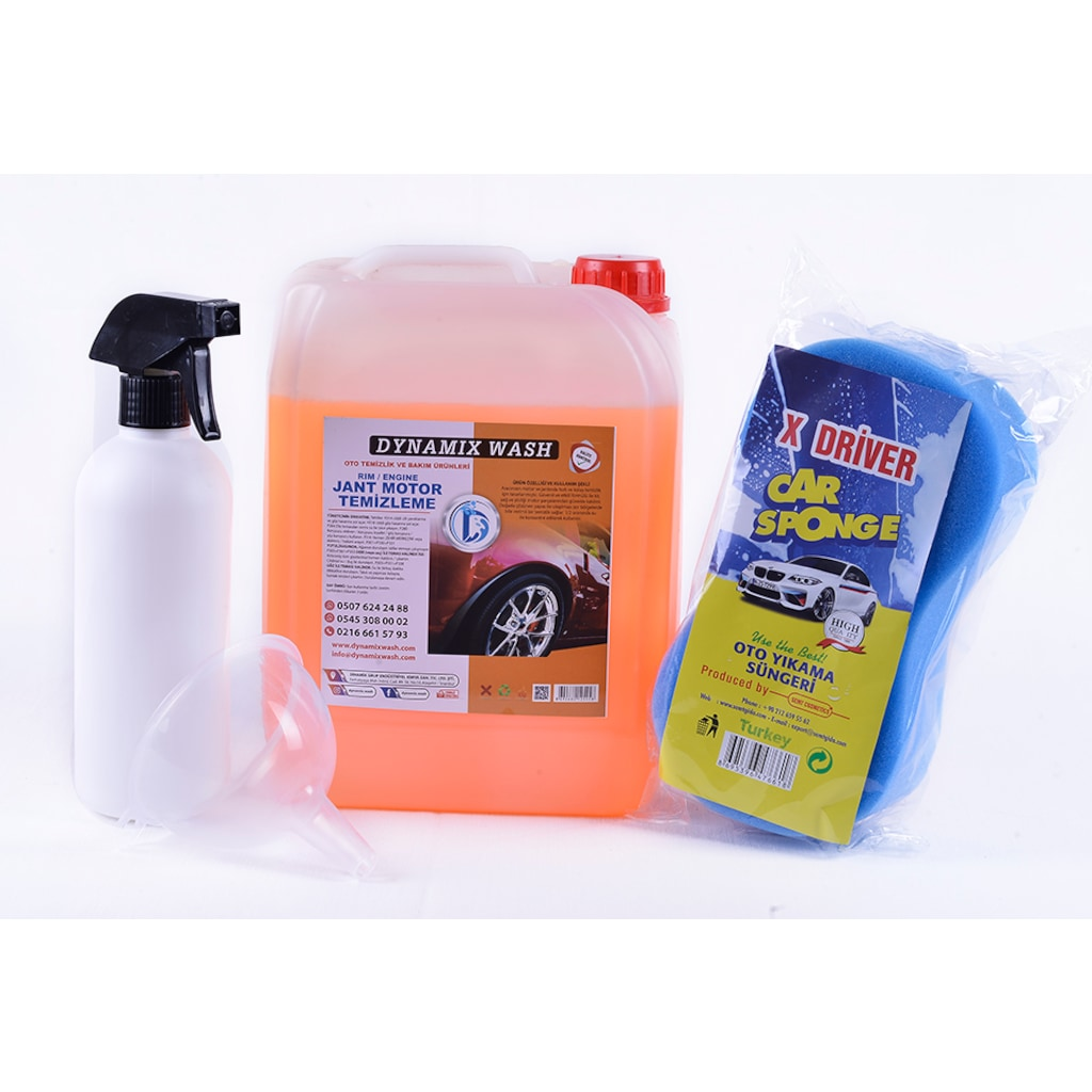02963121 - Dynamix Wash Jant Ve Motor Temizleme Konsantre 4 KG - n11pro.com