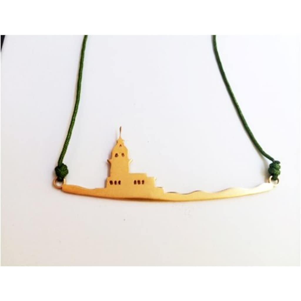 14438349 - Yuka By Guliz Kız Kulesi Kolye - n11pro.com