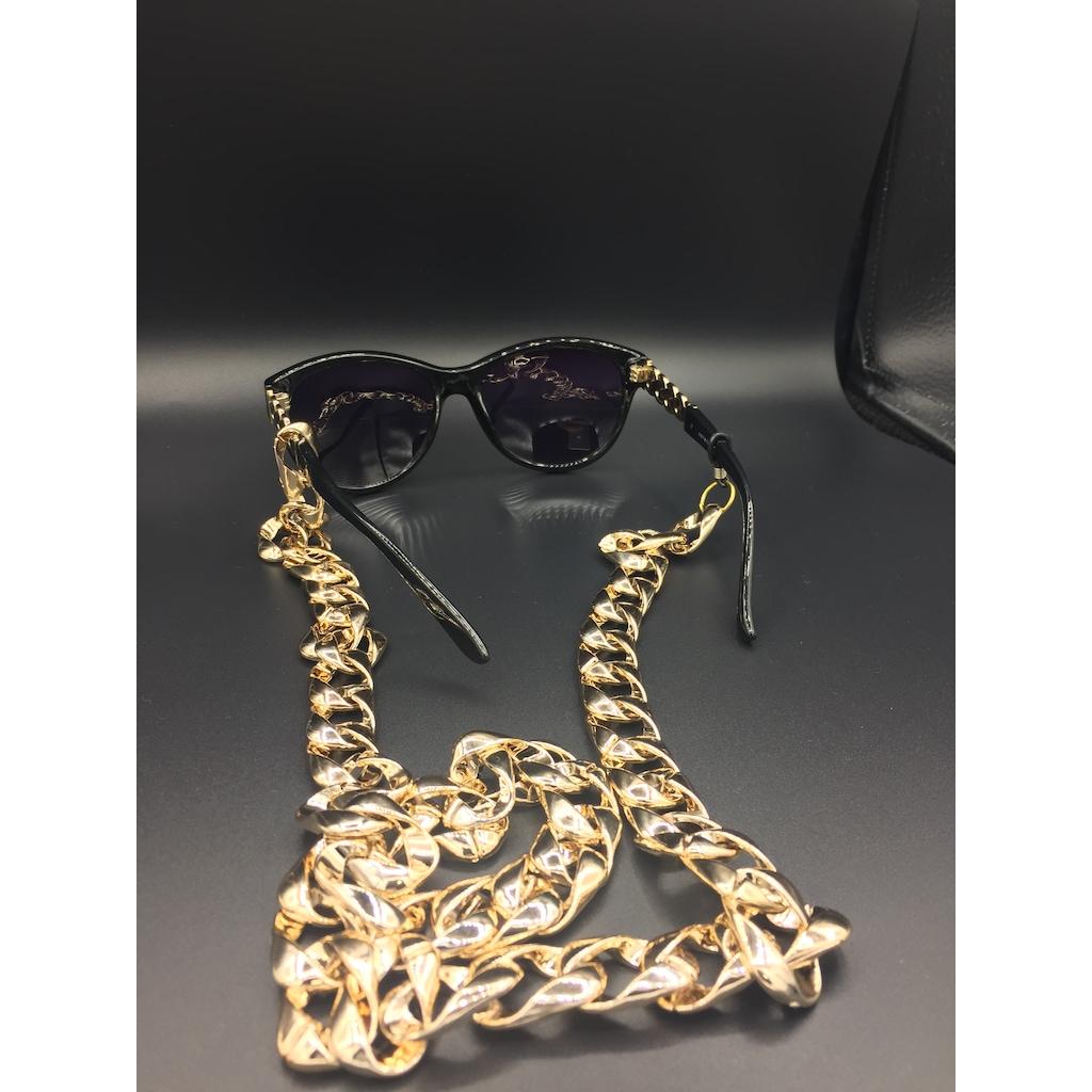 33077138 - Aksesuarix Trend Gözlük Zinciri Gold - n11pro.com