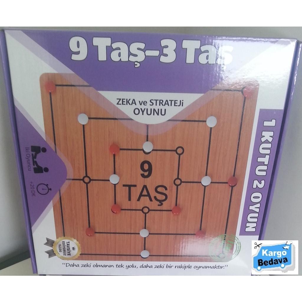 97430014 - EDK 9 Taş   3 Taş Zeka ve Strateji Oyunu - n11pro.com