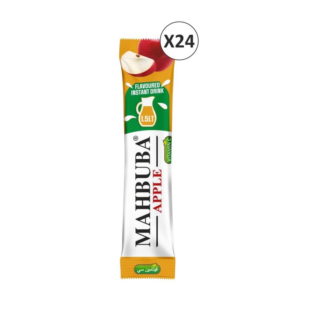 39472363 - Mahbuba Elma Aromalı Toz İçecek Meyve Suyu 24 x 11.2 G - n11pro.com
