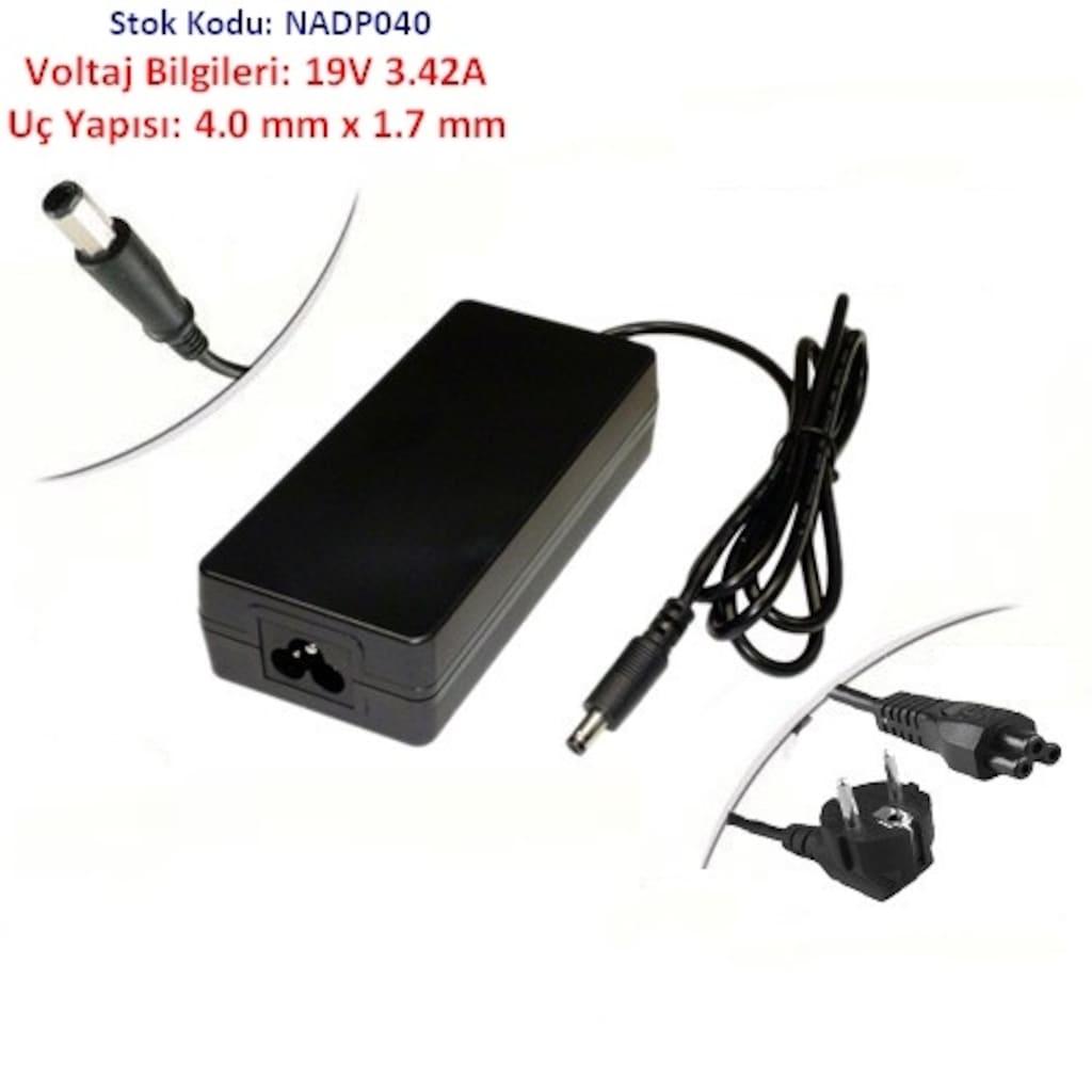06195538 - Katai Casper Notebook Ultrabook Adaptör 19V 3 42A 4.00 x 1,7 MM - n11pro.com