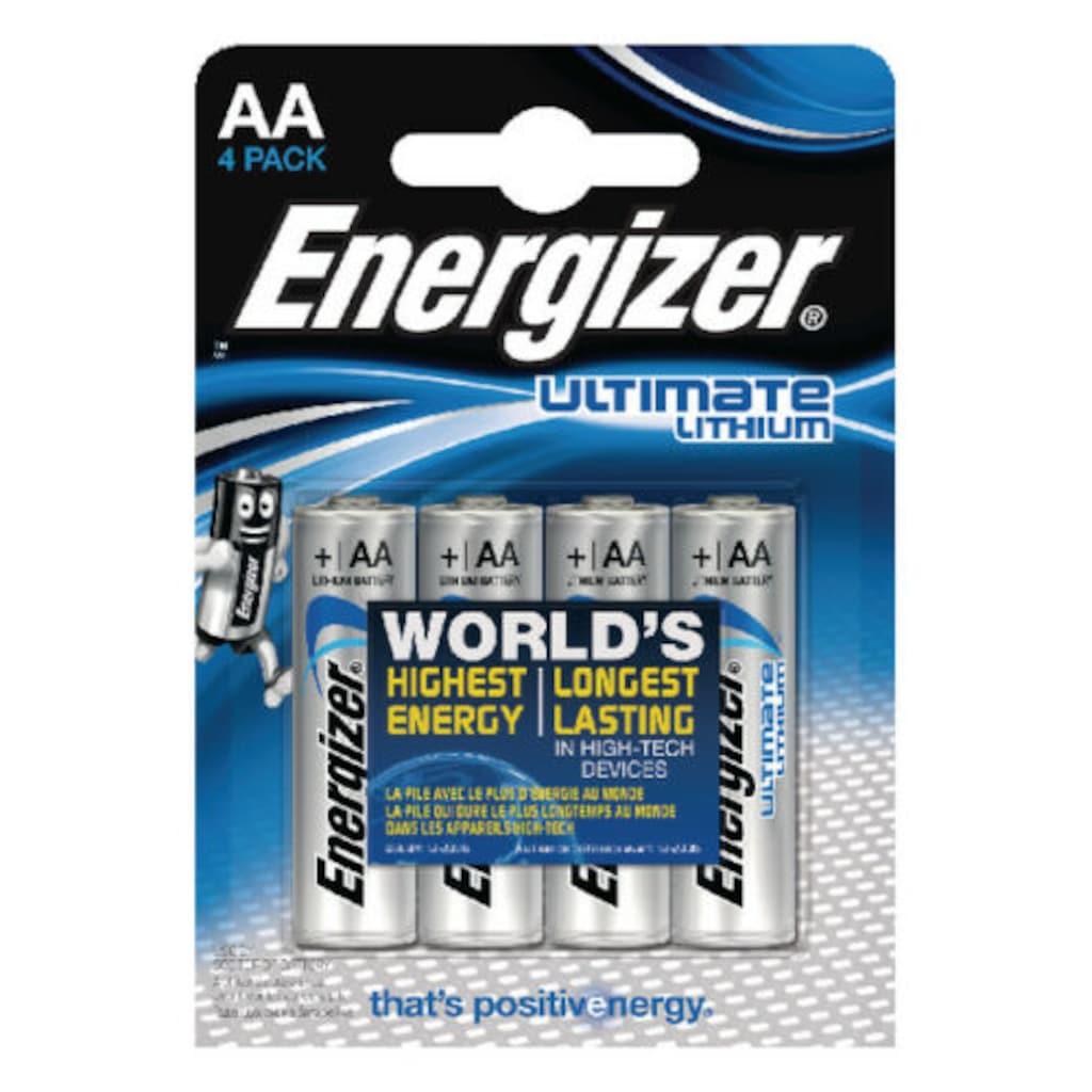 80317023 - Energizer Ultimate Lithium AA 4lü - n11pro.com