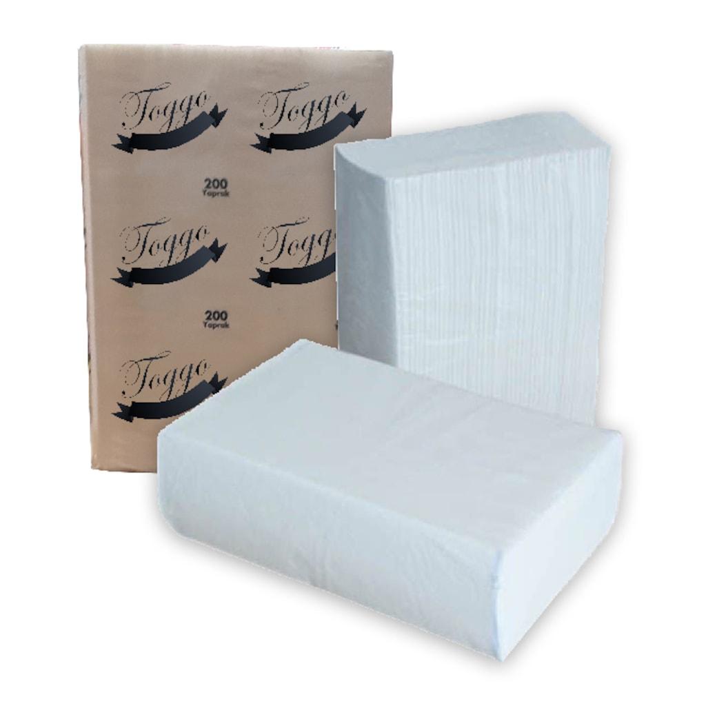 87608090 - Toggo Z Katlı Dispenser Kağıt Havlu 150'li 12 Paket - n11pro.com
