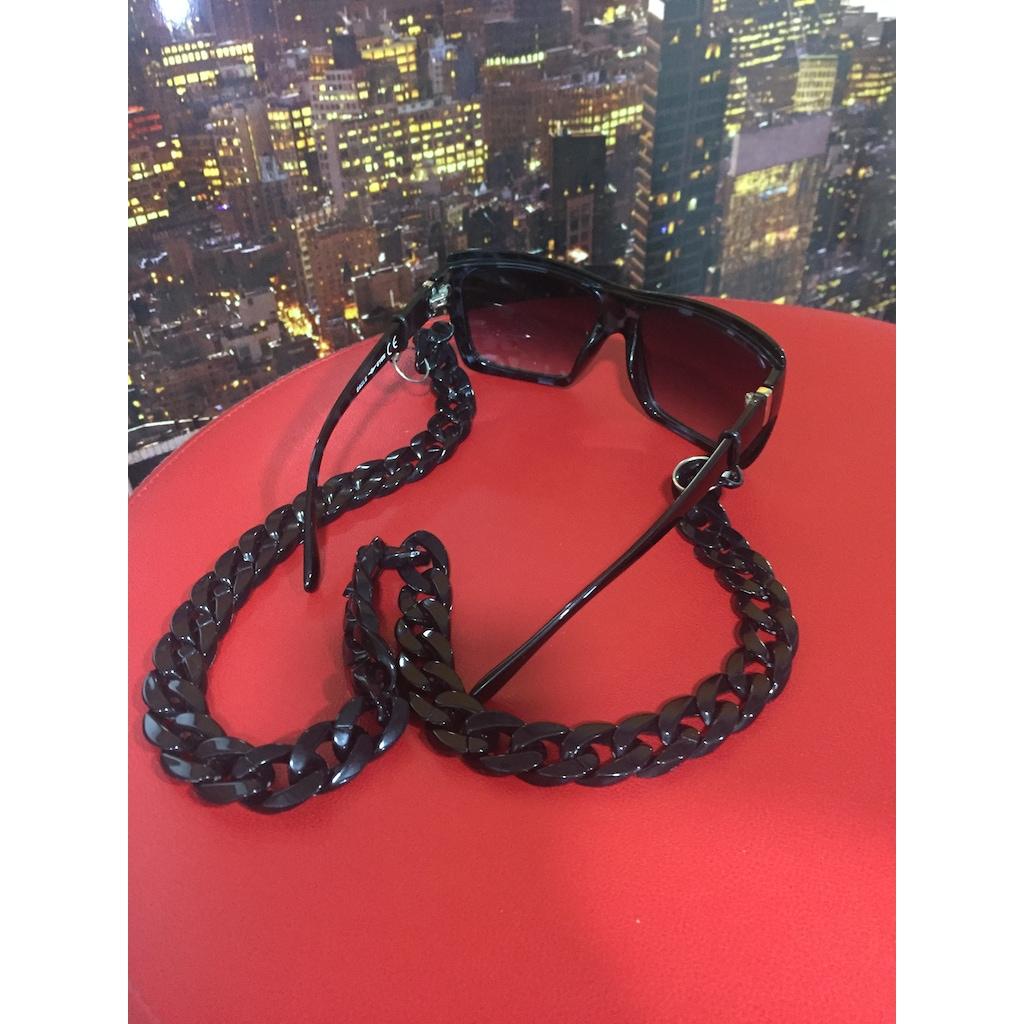 30810924 - Aksesuarix Trend Gözlük Zinciri Siyah - n11pro.com