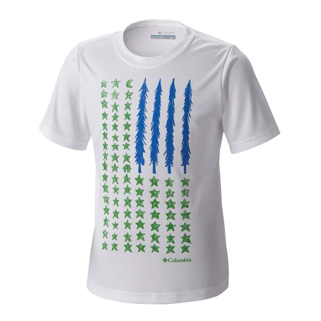 51828053 - Columbia 16-AB697-100 T-Shirt Beyaz - n11pro.com