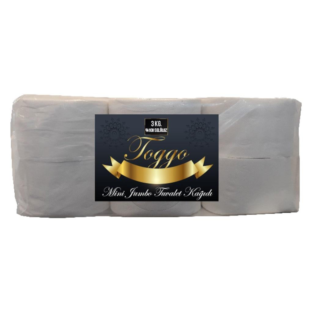 45715709 - Toggo Mini Jumbo Tuvalet Kağıdı 3 KG 12 Rulo - n11pro.com