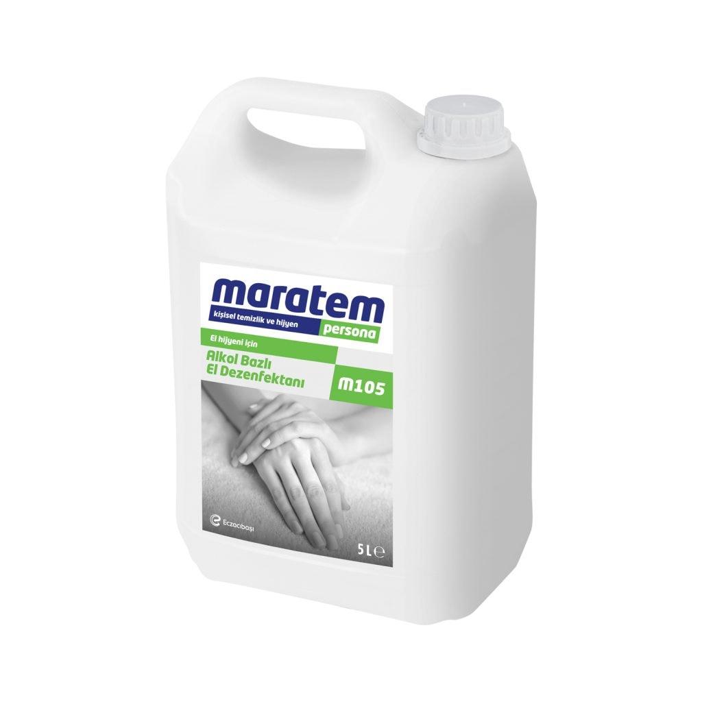 77334094 - Maratem M105 Alkol Bazlı El Dezenfektanı 5 L - n11pro.com
