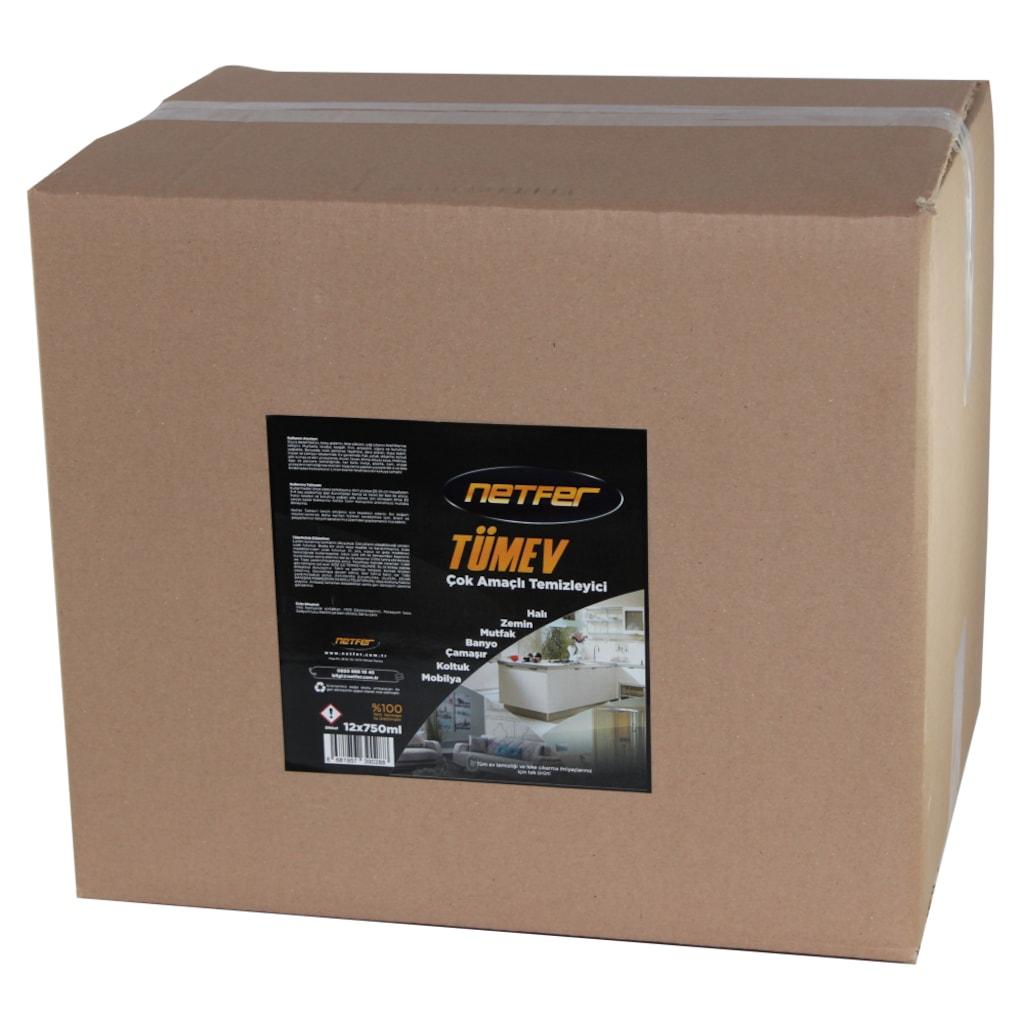 12774747 - Netfer Tümev Çok Amaçlı Temizleyici Koli 12x750 ML - n11pro.com