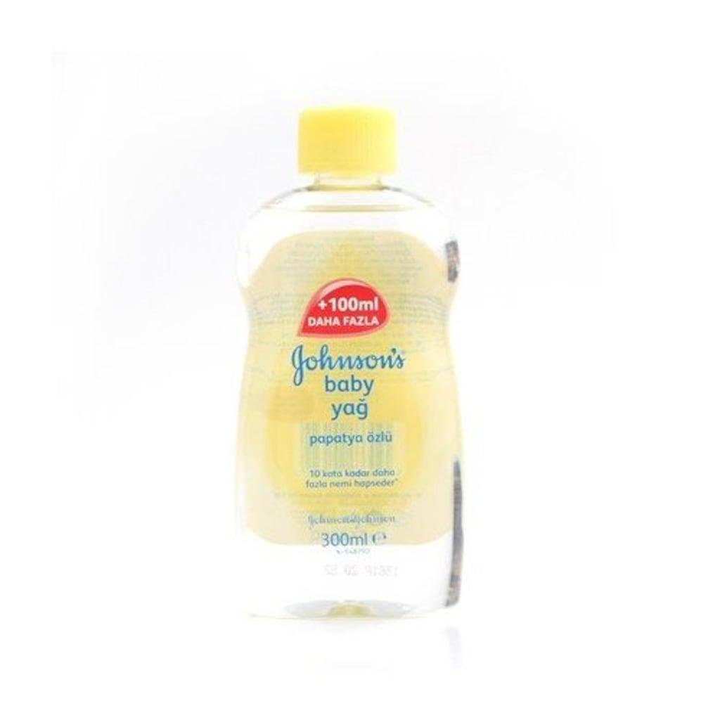 33252268 - Johnson's Baby Papatya Özlü Bebek Yağı 300 ML - n11pro.com