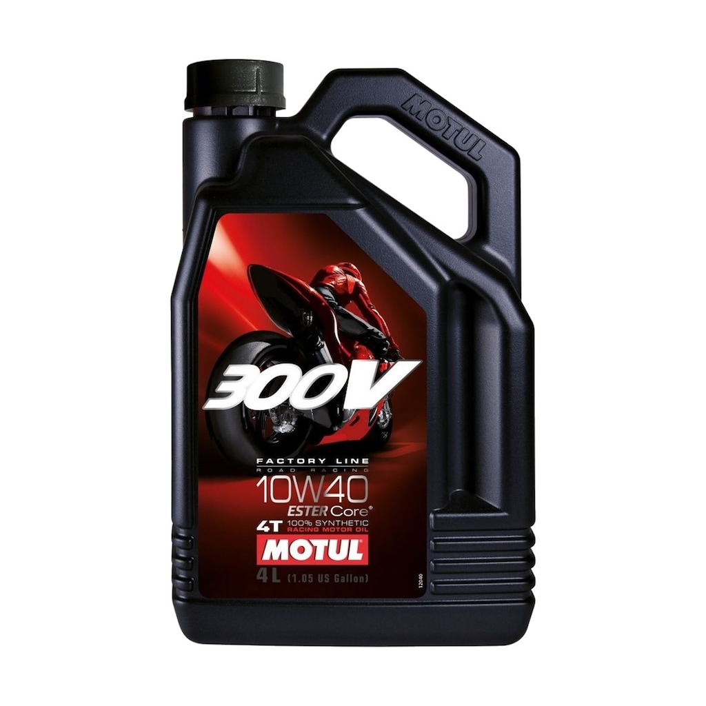 45080008 - Motul 300V FL 10W/40 4T 4 Zamanlı Tam Sentetik Motosiklet Yağı 4 L - n11pro.com