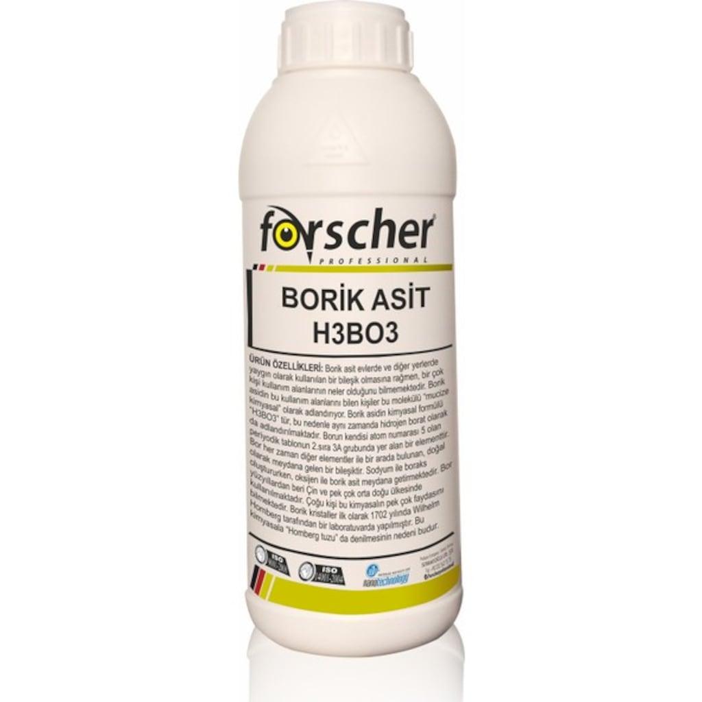 18235201 - Forscher Borik Asit H3BO3 Powder Toz 1 KG - n11pro.com