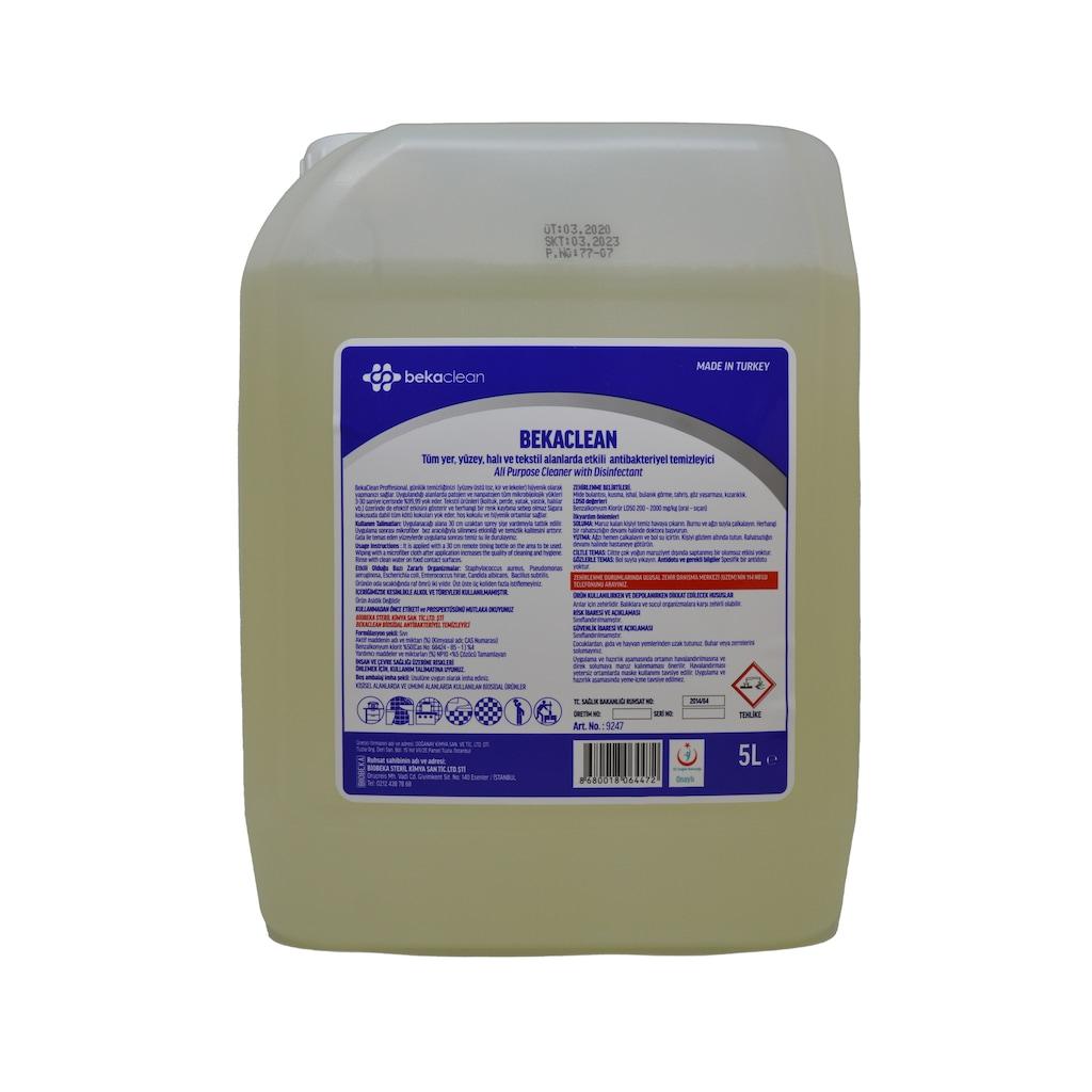 06924593 - Bekaclean Antibakteriyel Genel Yüzey Temizleyici 5 L - n11pro.com