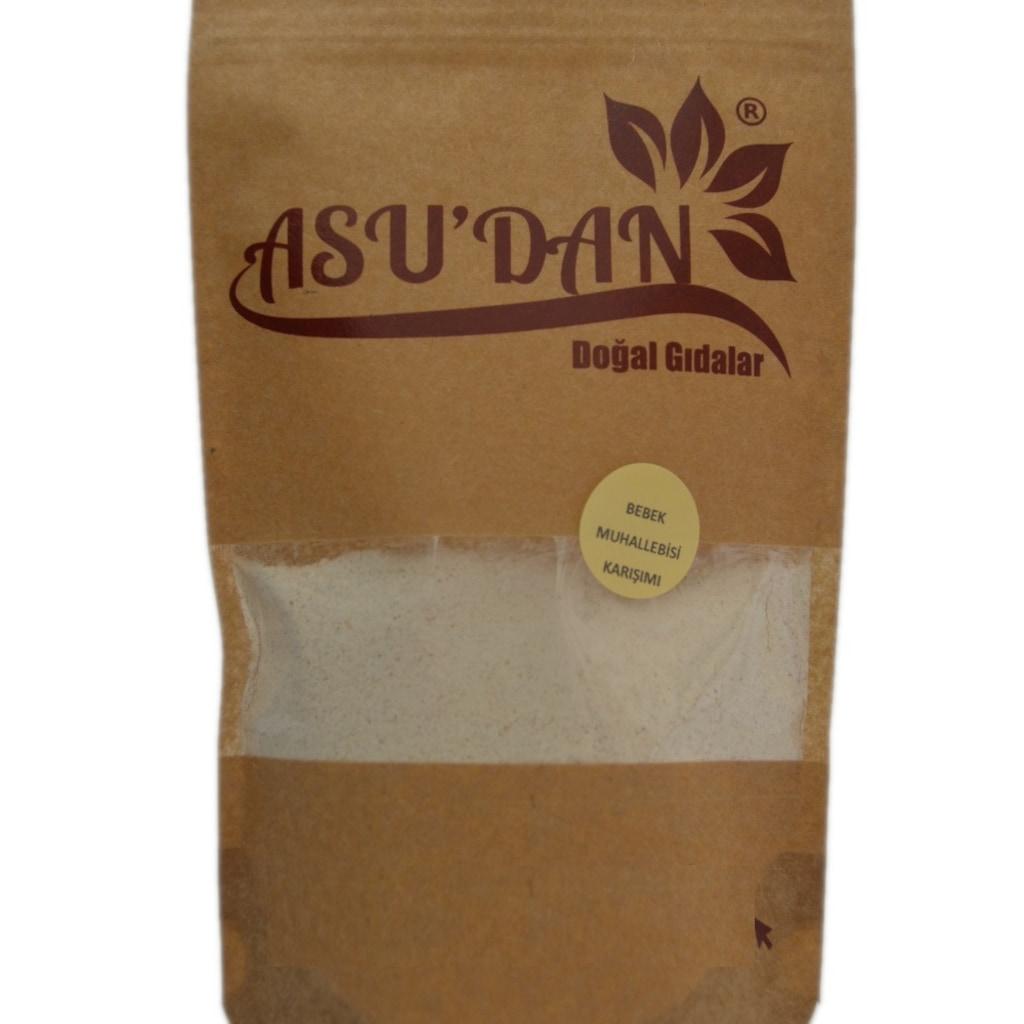 33568635 - Asudan Doğal Gıdalar Bebek Muhallebisi Karışımı 220 GR - n11pro.com